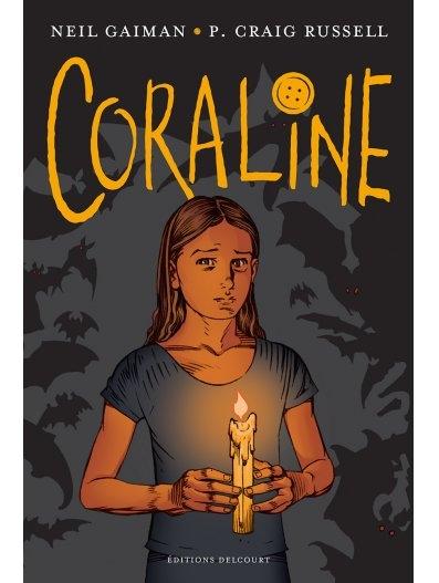 Couverture Coraline (BD)