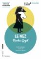 Couverture Le nez Editions Folio  (+ Collège) 2018