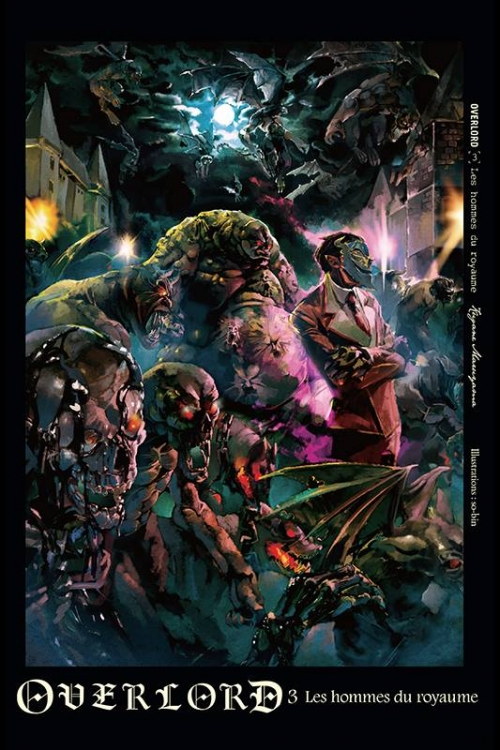 Couverture Overlord, tome 3 : Les hommes du royaume