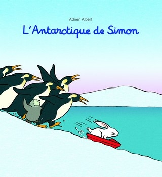 Couverture L'Antarctique de Simon
