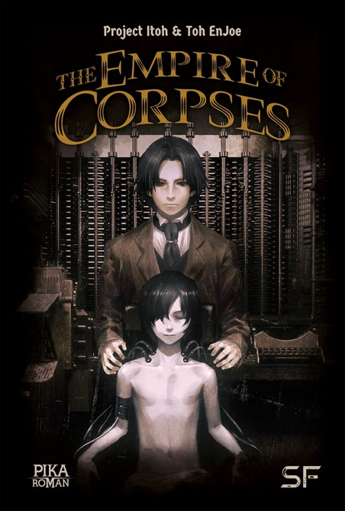 Couverture The Empire of Corpses (roman)