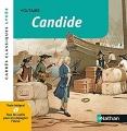 Couverture Candide ou l'optimisme Editions Nathan (Carrés classiques) 2018