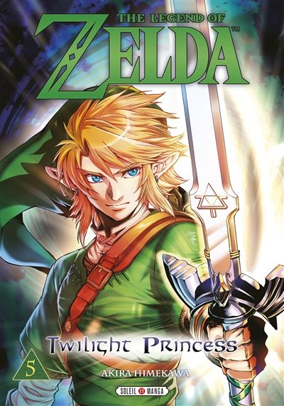 Couverture The legend of Zelda : Twilight princess, tome 5