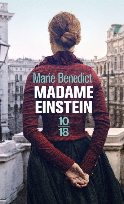 Couverture Madame Einstein