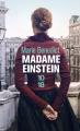 Couverture Madame Einstein Editions 10/18 2019