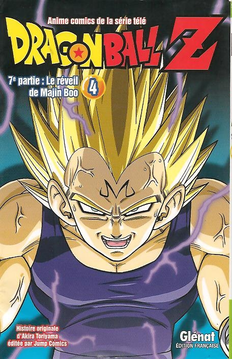 Couverture Dragon Ball Z (anime) : Le réveil de Majin Boo, tome 4