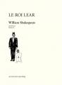Couverture Le Roi Lear Editions Actes Sud (Papiers) 2015
