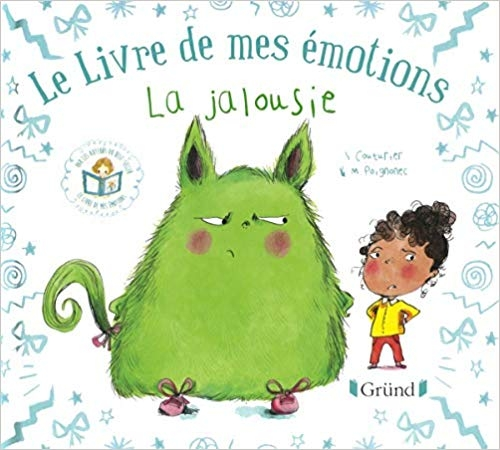 Couverture Le livre de mes émotions : La jalousie