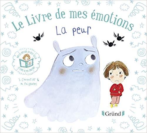 Couverture Le livre de mes émotions : La peur