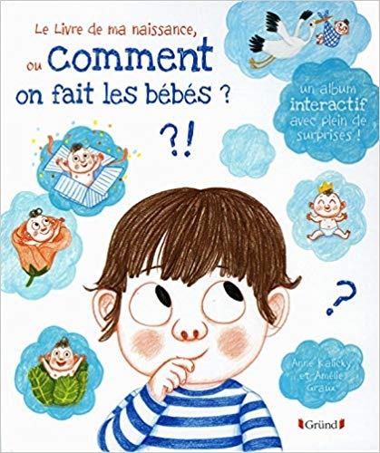 Couverture Le livre de ma naissance ou Comment on fait les bébés ?