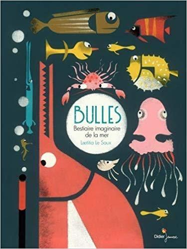 Couverture Bulles : Bestiaire imaginaire de la mer