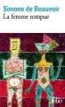 Couverture La Femme rompue Editions Folio  2017