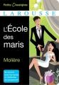 Couverture L'école des maris Editions Larousse (Petits classiques) 2014