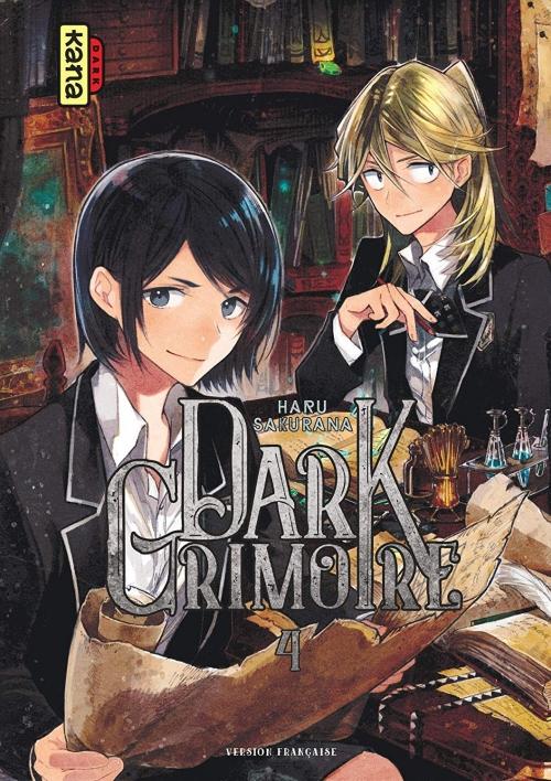 Couverture Dark Grimoire, tome 4