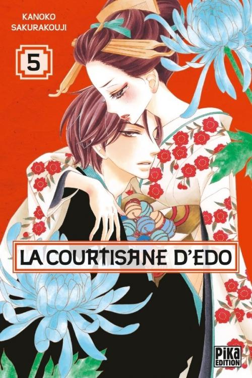 Couverture La courtisane d'Edo, tome 05