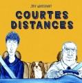 Couverture Courtes distances Editions Çà et là 2018