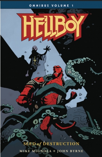 Couverture Hellboy Omnibus, book 1: Seed of Destruction