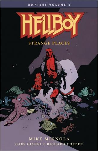Couverture Hellboy Omnibus, book 2: Strange places