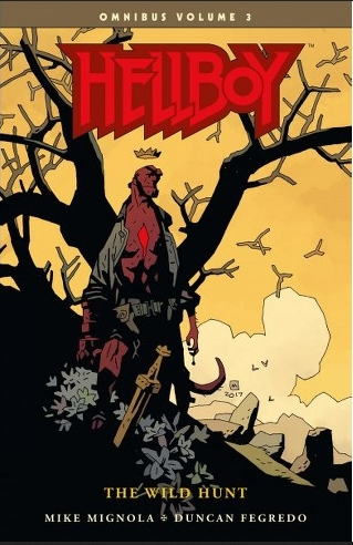Couverture Hellboy Omnibus, book 3: The Wild Hunt