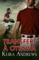 Couverture Transfert à Ottawa Editions MxM Bookmark 2018