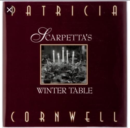 Couverture Scarpetta's Winter table