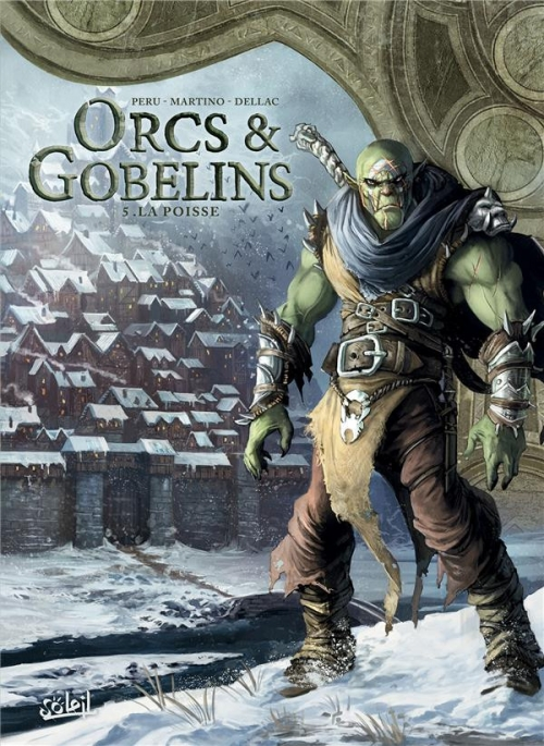 Couverture Orcs & Gobelins, tome 5 : La Poisse