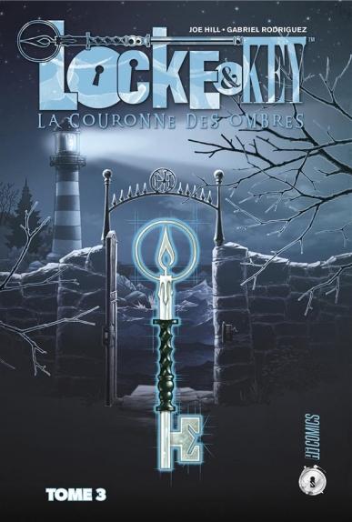 Couverture Locke & Key, tome 3 : La Couronnes des ombres