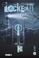 Couverture Locke & Key, tome 3 : La Couronne des ombres Editions Hi comics 2018