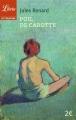 Couverture Poil de carotte Editions Librio (Littérature) 2015