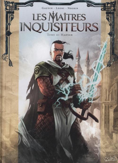 Couverture Les maîtres inquisiteurs, tome 10 : Habner