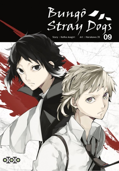 Couverture Bungô Stray Dogs, tome 09