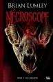 Couverture Nécroscope, tome 3 : Les origines Editions Bragelonne (L'Ombre) 2013