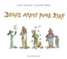 Couverture Douze mois pour rire Editions Gallimard  (Jeunesse) 2018