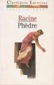 Couverture Phèdre Editions Larousse (Classiques) 1990