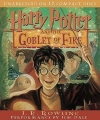 Couverture Harry Potter, tome 4 : Harry Potter et la coupe de feu Editions Listening Library 2007