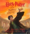 Couverture Harry Potter, tome 7 : Harry Potter et les reliques de la mort Editions Listening Library 2007
