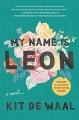 Couverture Je m'appelle Léon Editions Simon & Schuster 2017