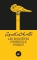 Couverture Les enquêtes d'Hercule Poirot Editions Le Masque 2015