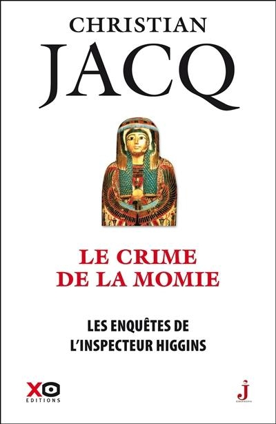 Couverture Les enquêtes de l'inspecteur Higgins, tome 01 : Le crime de la momie