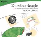 Couverture Exercices de style Editions Gallimard  (Ecoutez lire) 2008