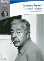 Couverture Le temps haletant et autres poèmes Editions Gallimard  (Ecoutez lire) 2015