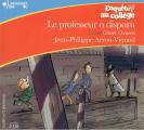 Couverture Le Professeur a disparu Editions Gallimard  (Ecoutez lire - Jeunesse) 2013