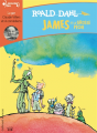 Couverture James et la grosse pêche Editions Gallimard  (Ecoutez lire - Jeunesse) 2018