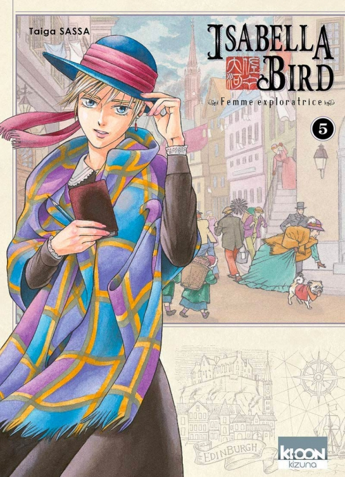Couverture Isabella Bird : Femme exploratrice, tome 5