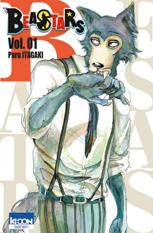 Couverture Beastars, tome 01