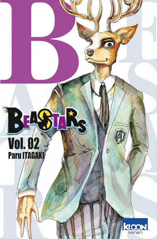 Couverture Beastars, tome 02