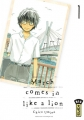 Couverture March comes in like a lion, tome 01 Editions Kana 2017