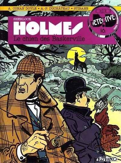 Couverture Sherlock Holmes (B.Détectives), tome 2 : Le Chien des Baskerville