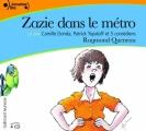 Couverture Zazie dans le métro Editions Gallimard  (Ecoutez lire) 2016
