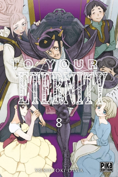 Couverture To your eternity, tome 08